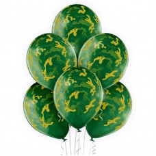 Lateksa balons ar zīmejumu, Haki, (30 cm)