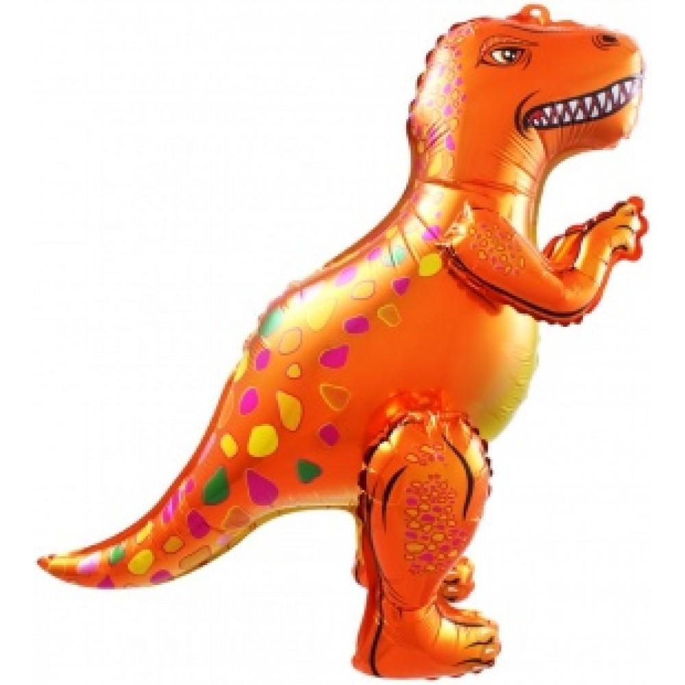 Dinozaurs Allosaurus, Oranžs, Staigaiošs, ( 64 cm)