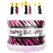 Torte ar svecēm, (79 cm)