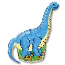 Dinozaurs Diplodokuss, Zils, (109 cm)