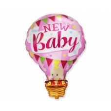 Balona mazulis, Roza, (90 cm)