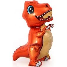 Mazais Dinozaurs, Oranžs, Staigaiošs, (76 cm)