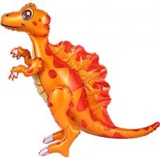 Dinozaurs Spinosaurus, Oranžs, Staigaiošs, (76 cm)