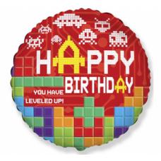 Happy Birthday, Tetris, (46 cm)