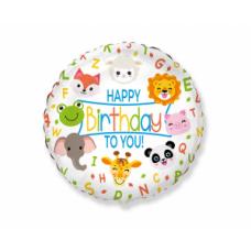 Happy Birthday, Dzīvnieki, (46 cm)
