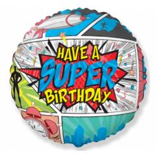 Super Birthday, COMIC, (46 cm)