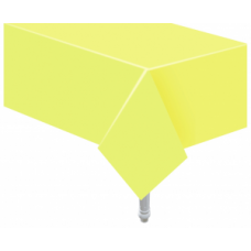 Papīra galdauts, Gaiši Dzeltens, (132Х183 cm)