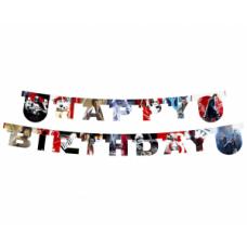 Virtene Happy Birthday, Star Wars. (200 cm)