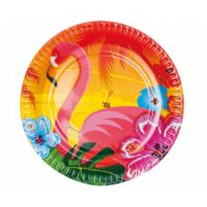 Šķīvīši, Flamingo, 6 gb, (23 cm)