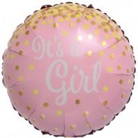 Aplis, Its a Girl, Zelta konfeti, (46 cm)