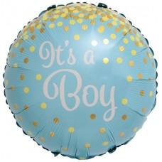 Aplis, Its a Boy, Zelta konfeti, (46 cm)