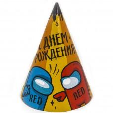Papīra cepures. Spēle starp mums, Daudz laimes dzimšanas dienā, Krievu val, (6 gab)