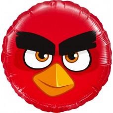 Aplis, Angry Birds,, Sarkans, (46 cm)