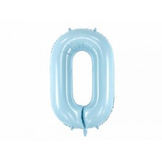 Cipars 0, Gaiši zils, (92cm)
