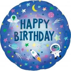 Aplis, Kosmosa piedzīvojums, Happy Birthday, (46 cm)