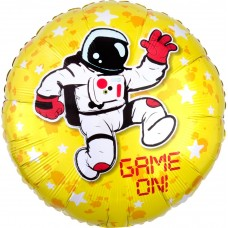 Aplis, Game on, Astronauts un zvaigznes, Dzeltens, (46 cm)