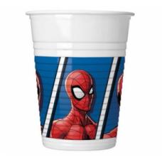 Glāzes, Spiderman, 8 gab. (200 ml)