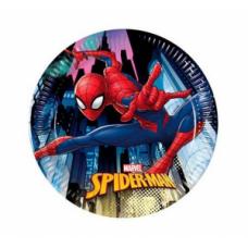Šķīviši, Spiderman, 8 gb. (19.5 cm)