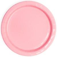 Šķīviši, Rozā, 6 gb. (18 cm)