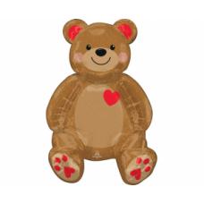 Lācis, Teddi, Staigāiošs, (50 cm)