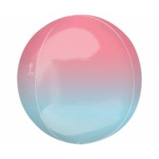Sfera, Rozā-zils, (38 cm)