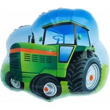 Traktors, Zaļš, (66 cm)