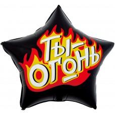 Zvaigzne, Tu esi Uguns, Melns, Krievu val, (56 cm)