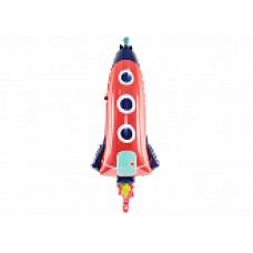 Raķetes sarkana, (115 cm)
