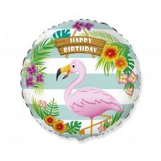 Birthday flamingo, (46 cm)