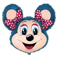 Babsy Mouse, Zils, (76 cm)