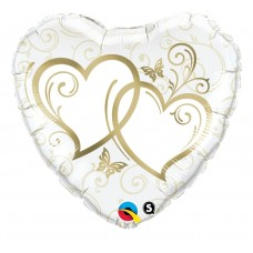 Sirds kāzu ar sirsniņam, (46 cm)