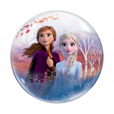Caurspīdīga bumba Frozen II, (56 cm)