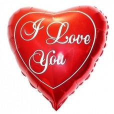 Sirds, Es tevi mīlu, Sarkans, (58 cm)