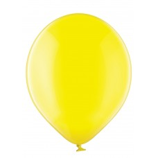 Lateksa balons, Crystal Yellow, (30 cm)