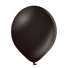 Lateksa balons, Metallic Black, (30 cm)