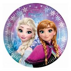 Šķīvīši. Frozen, 8 gab. (23 см)