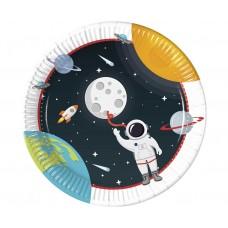 Šķīvīši, Kosmonauts, 8 gab, (23 cm)