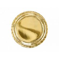 Šķīvīši, Zelts, 6 gab. (23 cm)