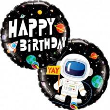 Aplis, Daudz Laimes Dzimšanas Dienā, Kosmos, (46 cm)