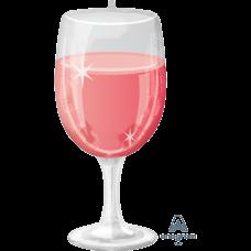 Glāze, Rozā, (78 cm)