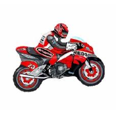 Motocikls, Sarkans, (61 cm)