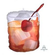 Viskijs ar ledu, (58 cm)