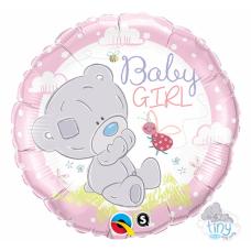 Folija balons, Baby girl, (46 cm)