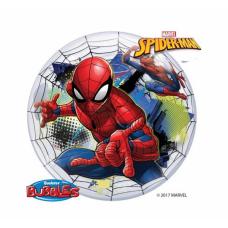Caurspīdīga balons, Zirnekļcilvēks, (56 cm)