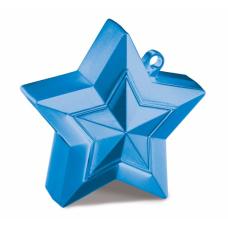 Atsvariņš, Zvaigzne, Zils, (9 cm)
