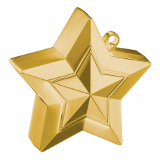Atsvariņš, Zvaigzne, Zelts, (9 cm)