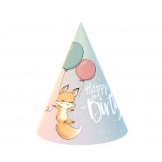 Papīra cepures, Lapsa, (6 gb)