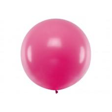 Lateksa balons, Fuksijas, (1 м)