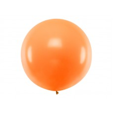 Lateksa balons, Oranžs, (1 м)