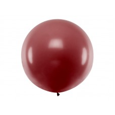Lateksa balons, Bordo, (1 м)